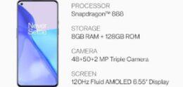 Specificaties verschenen van OnePlus 9: 50MP groothoek-camera