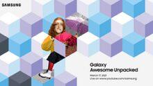 Samsung houdt 17 maart 'Galaxy Awesome Unpacked' evenement