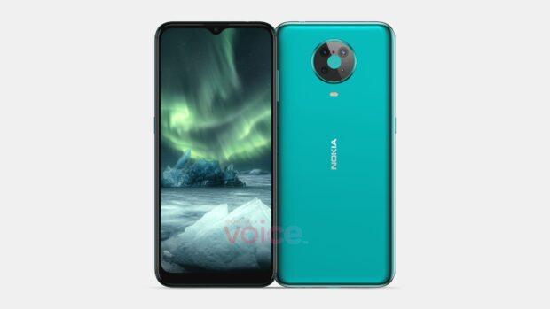 Nokia 6.3 or 6.4 in cyan