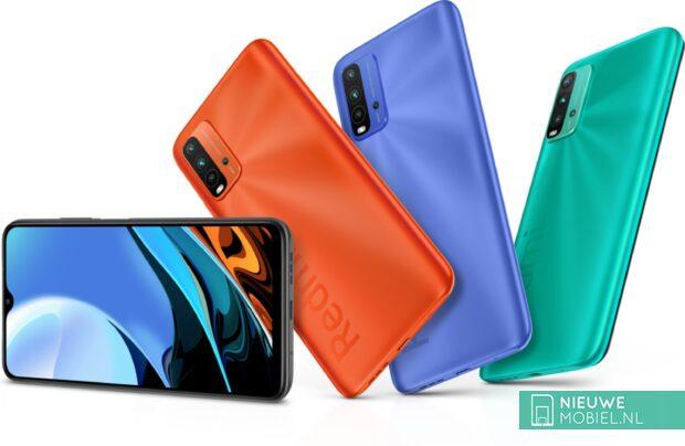 Xiaomi Redmi 9T colors overview