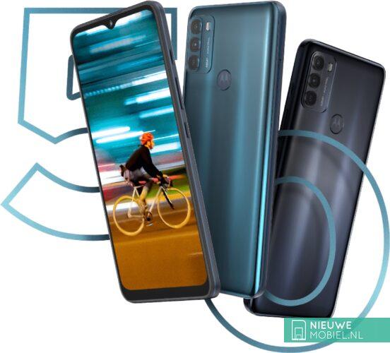 Motorola Moto G50 promo