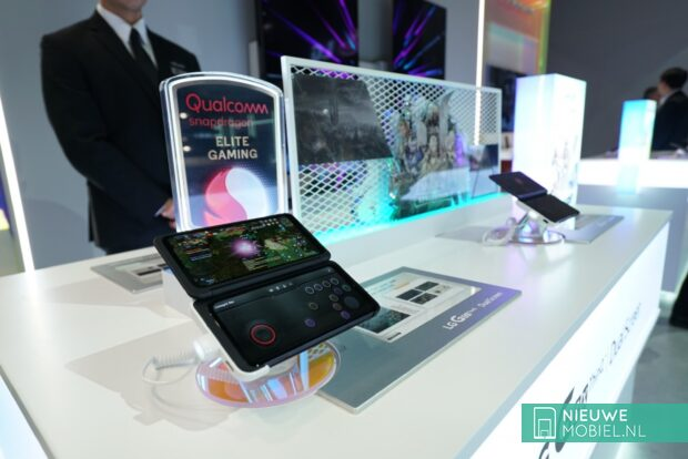 LG G8x ThinQ während der CES 2020