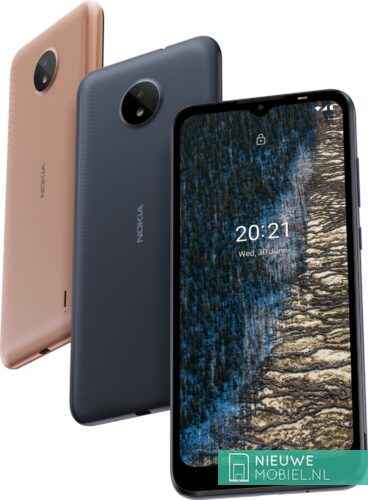 Nokia C20 colors