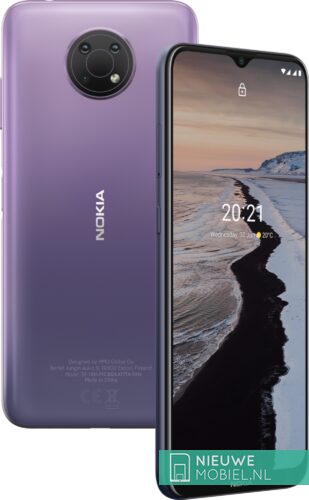 Nokia G10 colors