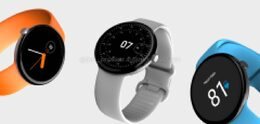 Possible Google Pixel Watch seen in renders