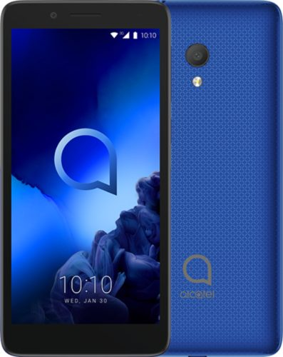 Alcatel 1c blauw overzicht