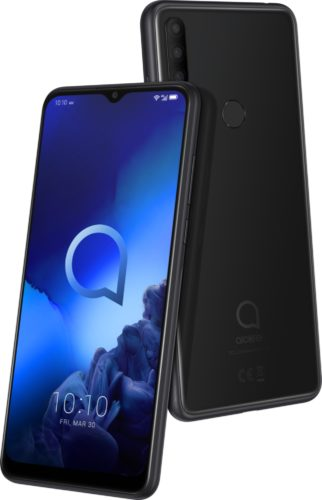Alcatel 3x 2019 black overview
