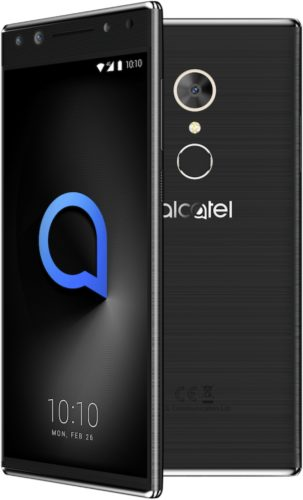 Alcatel 5 zwart overzicht