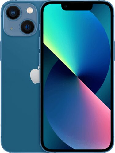 Apple iPhone 13 mini blauw overzicht