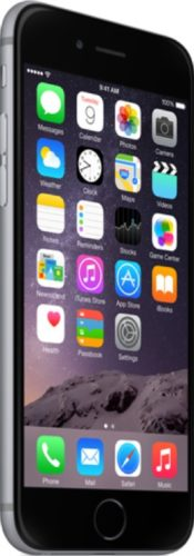 Apple iPhone 6 linkerzijkant schuin