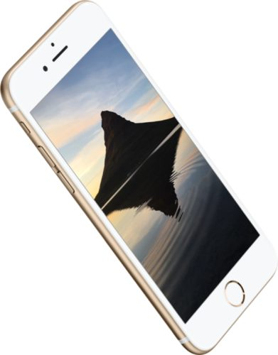 Apple iPhone 6s goud bovenkant linkerzijkant