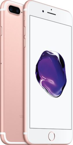 Apple iPhone 7 Plus pink overview