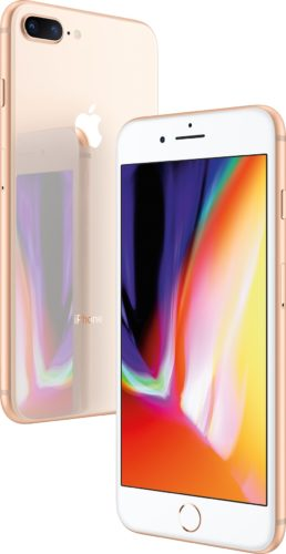 Apple iPhone 8 Plus goud overzicht