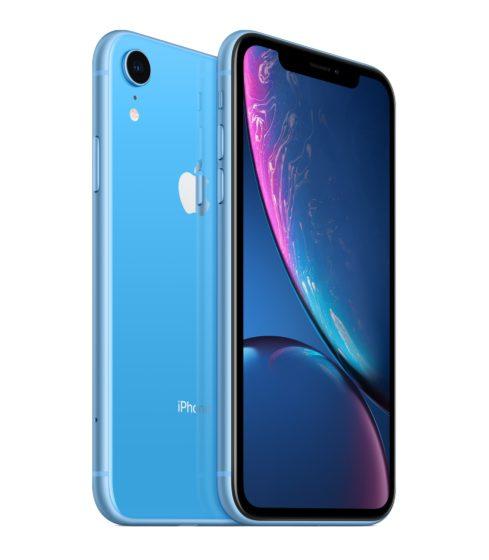 Apple iPhone XR overzicht blauw