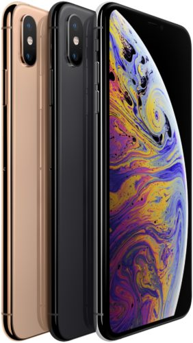 Apple iPhone XS colours overview