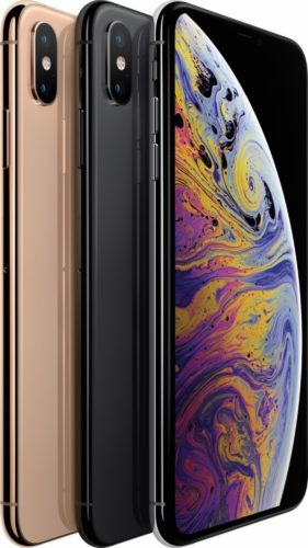 Apple iPhone XS Max color overview