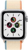 Apple Watch SE 40mm voorkant aluminium zilver