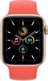 Apple Watch SE 44mm Vorderseite aluminum gold