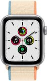 Apple Watch SE 44mm voorkant aluminum zilver