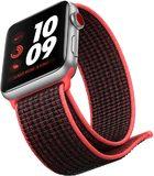 Apple watch series 3 pink voorkant rechterzijkant onderkant