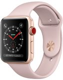 Apple watch series 3 pink gold front right side