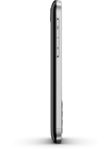 BlackBerry Classic black linkerzijkant