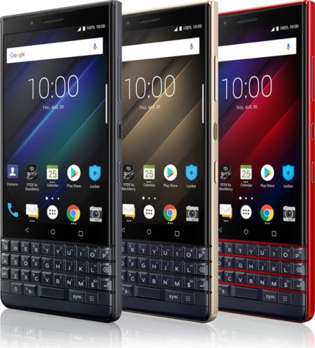 BlackBerry KEY2 LE color overzicht