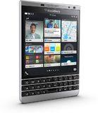 BlackBerry Passport Silver Edition linkerzijkant schuin