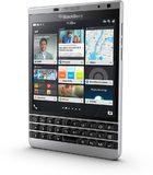 BlackBerry Passport Silver Edition rechterzijkant schuin