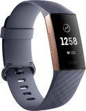 Fitbit Charge 3 copertina frontale lato sinistro blu