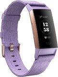 Fitbit Charge 3 copertina frontale lato sinistro viola
