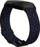 Fitbit Charge 4 Special Edition blau linke Seite Unterseite schräg