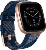 Fitbit Versa 2 Special Edition gold front left side tilted ed