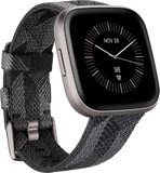Fitbit Versa 2 Special Edition grey front left side tilted ed