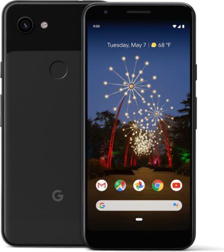 Google Pixel 3a schwarz Übersicht