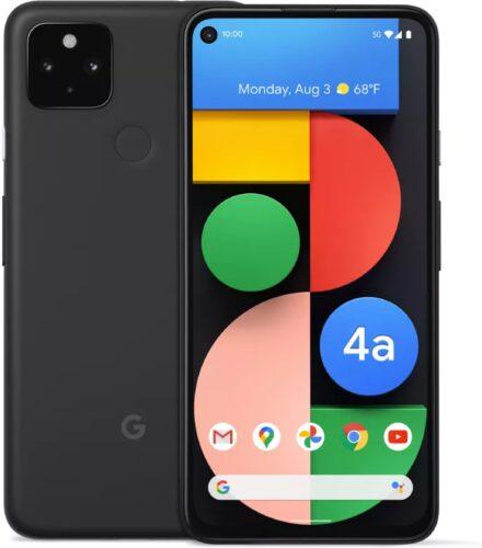 Google Pixel 4a 5g black overview