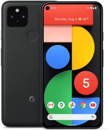 Google Pixel 5 schwarz Übersicht