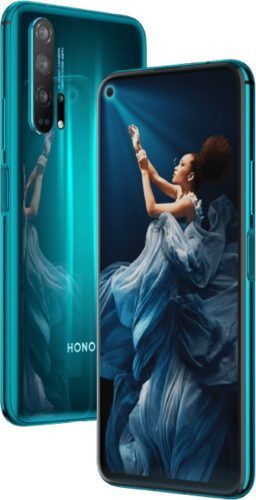 Honor 20 Pro blue overview