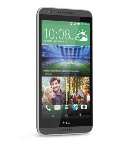 HTC Desire 820 schuin linkerzijkant