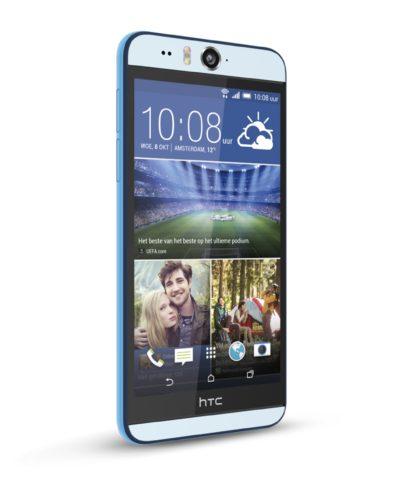 HTC Desire Eye voorkant schuin