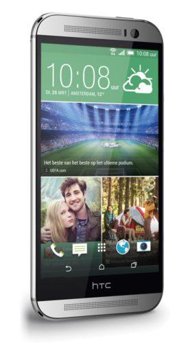 HTC One M8 schuin