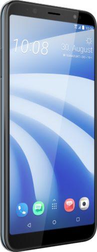 HTC U12 Life voorkant linkerzijkant blauw