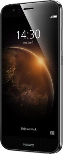 Huawei G8 grijs voorkant rechterzijkant