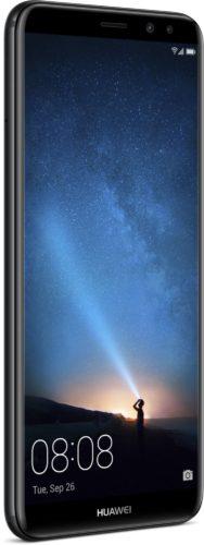 Huawei Mate 10 Lite zwart voorkant linkerzijkant