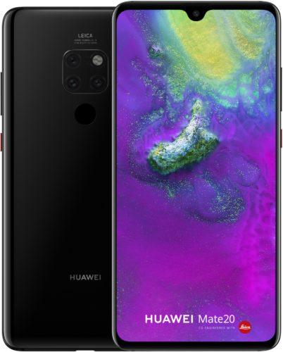 Huawei Mate 20 zwart overzicht