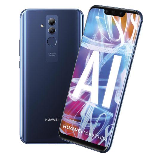 Huawei Mate 20 Lite blauw overzicht