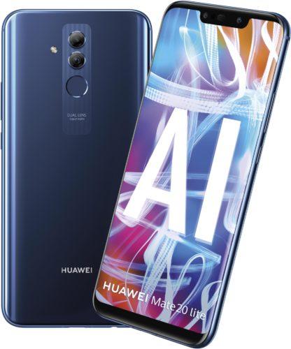 Huawei Mate 20 Lite blau Übersicht
