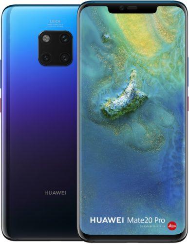 Huawei Mate 20 Pro twilight overzicht