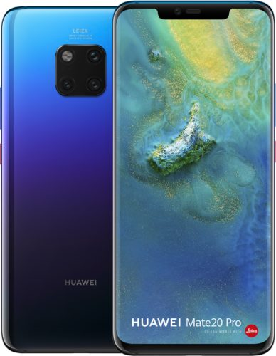Huawei Mate 20 Pro twilight overview