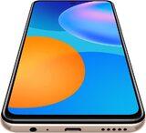 Huawei P Smart 2021 oro copertina frontale in basso